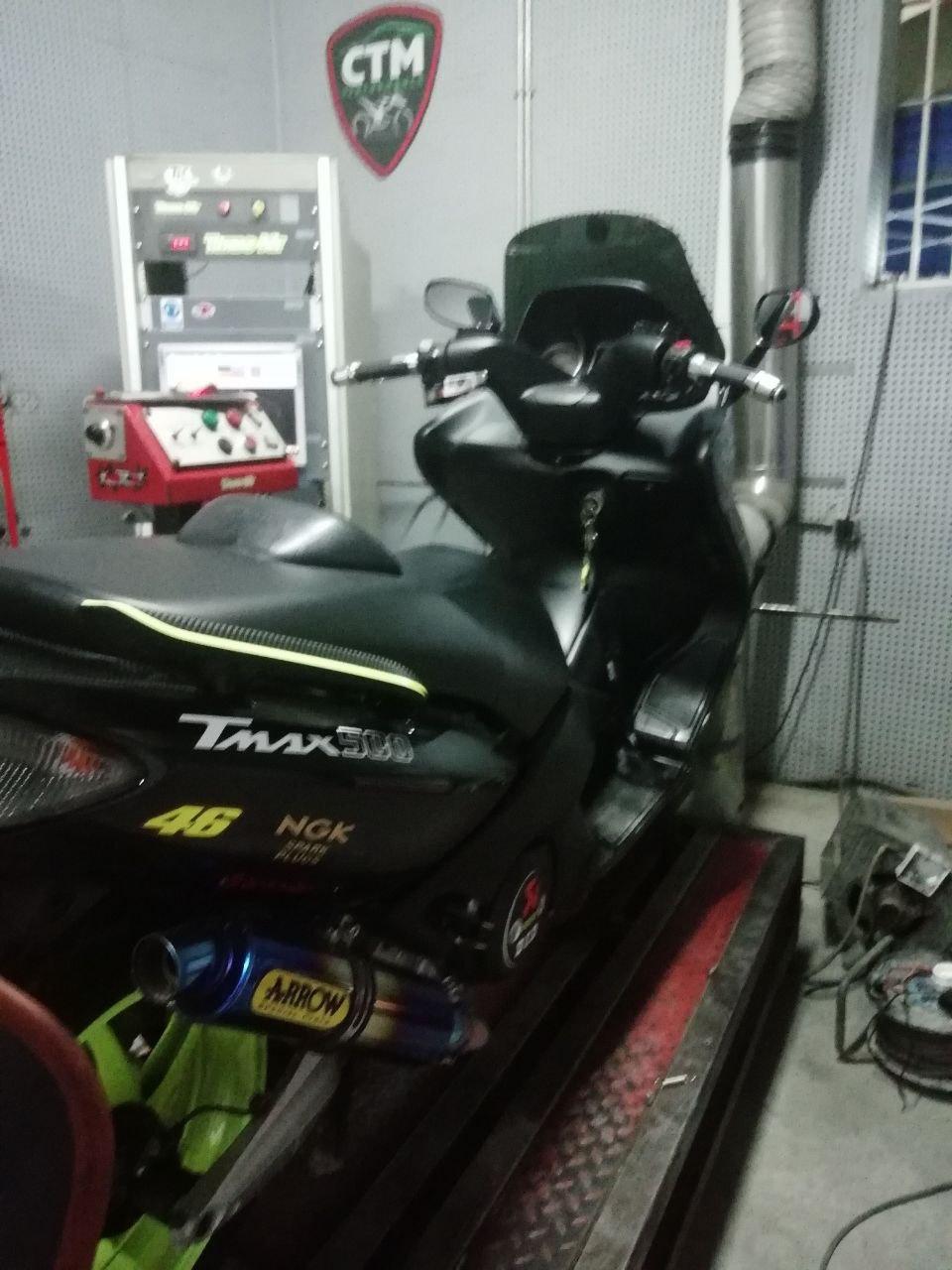 TMAX 500.